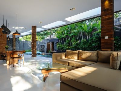 Photo for Peaceful, Modern, Breezy Private Villa with Beautiful Pool