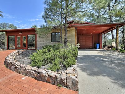 Photo for NEW! Secluded 'Forest Retreat' Cottage in Prescott