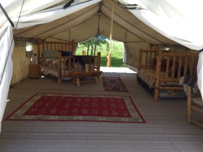 Photo for Luxury Camping at the Solar Eclipse Epicenter! Available August 18-21, 2017