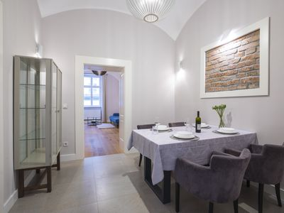 Photo for Deluxe apartment in the heart of Zagreb; 65m2; 150m from main square
