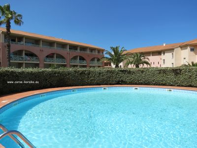 Photo for Rental holidays appartment  near the beach in Corsica