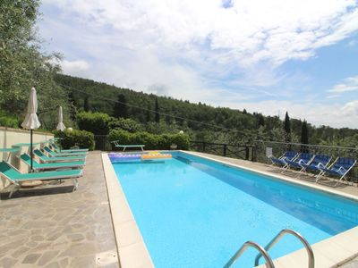 Photo for Villa with private pool for 4 persons. Walking distance to San Giustino Valdarno. Pets are welcome a