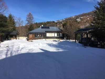 Photo for Chalet in the heart of the village - South facing - Quiet - Comfortable
