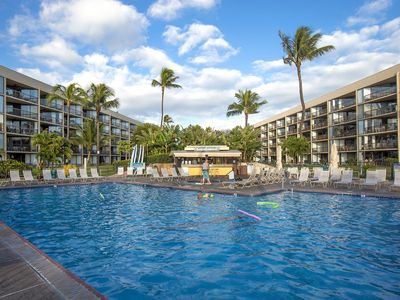 Photo for Maui Sunset #A-509 1Bd/2Ba, Oceanfront, Panoramic Ocean Views, Great Rates!