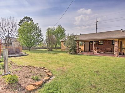Photo for Tulsa Home on 1.5 Acres w/Deck~15 Mins to Downtown