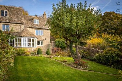 Welcome to Grange Cottage, perched on a hill with stunning views