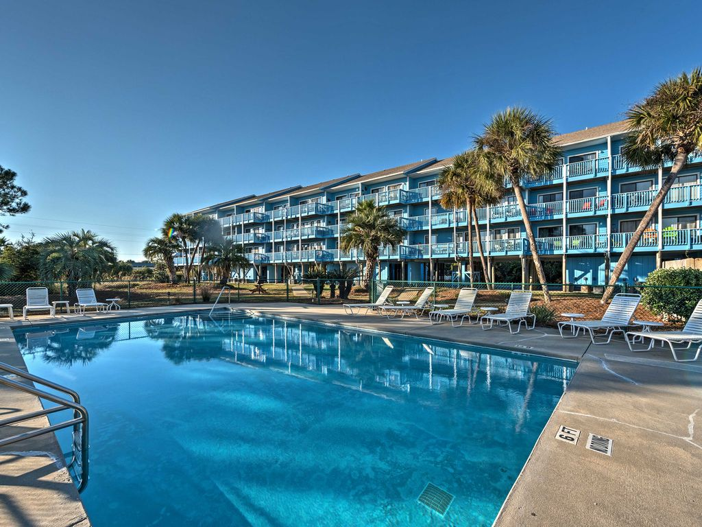 Escape To This Cozy Vacation Al Studio Condo For The Ultimate Santa Rosa Beach Getaway