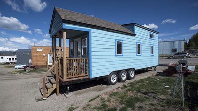 Photo for Tiny House Duke - roomy and colorful tiny house for your Leadville stay!
