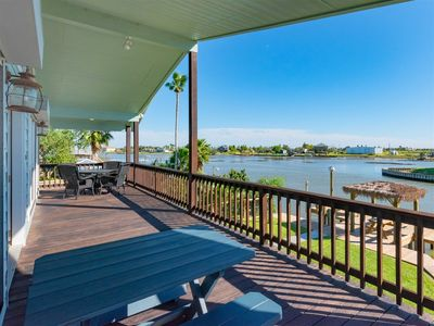 Photo for Great fishing from this beautiful  3 bedroom, 2 bath waterfront home located on channel between Copa