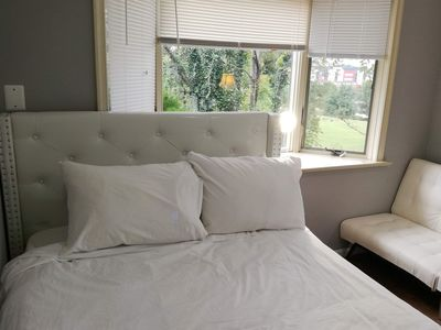 Photo for 5 min. metro to Washington & 20 min. to downtown.Private bath/room.No kitchen.1A