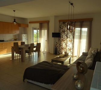 Photo for Fully rennovated apartment,with great view of the sunset and close to the beach.