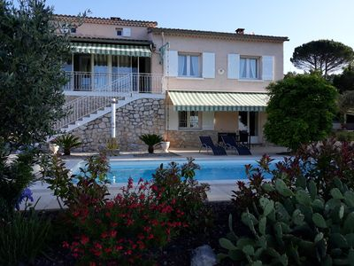 Photo for House AXALY Saint Martin d'Ardèche capacity 12 people with swimming pool