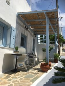 Photo for Traditional Cycladic Village Stone  House Ilias