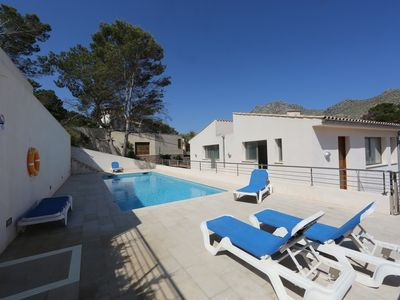 Photo for Nice house next to the beach in Cala Sant Vicenç