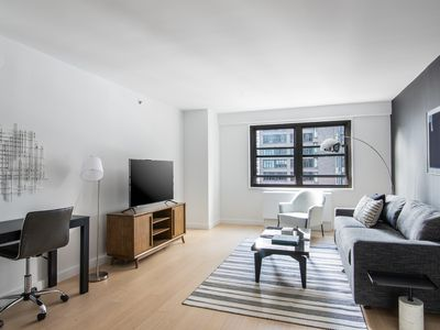 Photo for Sonder | The Nash | Relaxed 1BR + Rooftop
