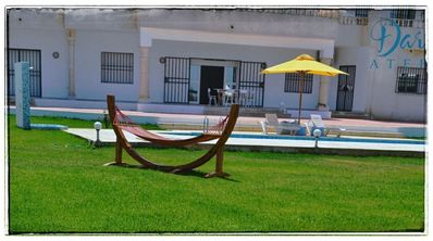 Photo for quiet pool villa with sea and mountain views