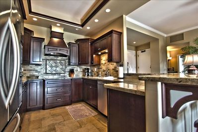 from cooking gadgets to spices to convection oven and dimmable soffit lighting