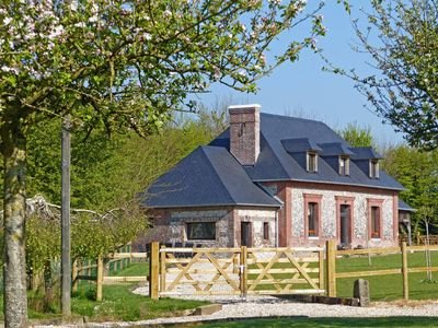 Photo for Vacation home Le Clos du Blanc  in St Marguerite sur Fauville, Normandy / Normandie - 10 persons, 4 bedrooms