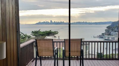 Photo for Spectacular panoramic views & Mid Century Modern class. Easy Walk Downtown