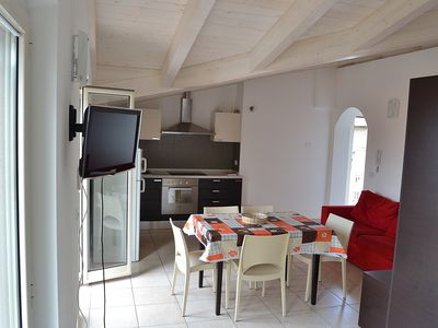 Photo for Residence Zoe, open space apartment, 150 meters from the sea, city center.