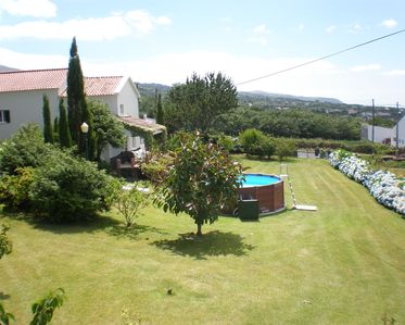 Photo for AHR - Casa do Canto, gorgeous house garden with pool, panoramic sea view AL 178