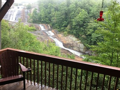 Photo for LUXURY LIVING WITH BEST TOXAWAY FALLS VIEW
