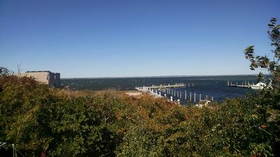Photo for Lovely 2 BR Cottage W/ Bay Views!
