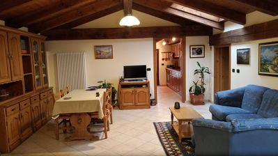 Photo for 2BR Apartment Vacation Rental in Villar San Costanzo