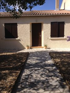 Charming one storey 3 bedroomed house with gardens