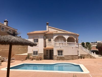 Photo for Alicante Villa With Air-con and A Private Pool With Large Secure Tiled Sun Area