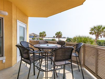 Photo for Ocean Front Condo with Amazing Beach View, Located Steps to the Beach, Dining & Pier