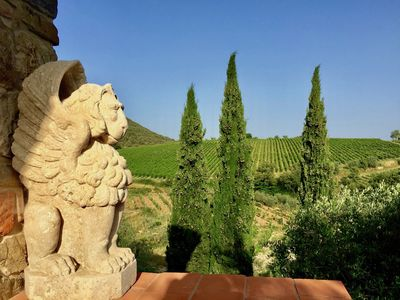 Photo for Gated Private Estate🏡 San Felice Adjacent 🌈Classic Views, 🍇Vineyards
