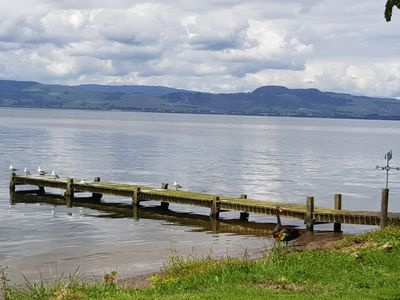 Photo for Cottage with access to Lake Rotorua