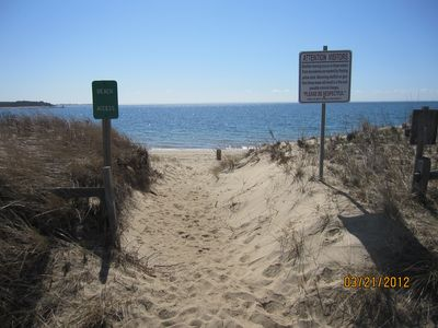 Photo for 20 Steps To The Beach! Great Swimming. Explore Cape Cod National Seashore.