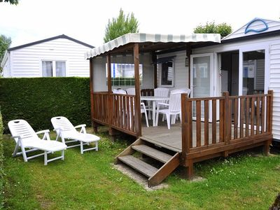 Photo for Camping La Prairie **** - Mobile home 3 Rooms 4/5 People