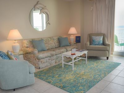 Photo for OCEANFRONT 3 Bedroom 2 Bath Condo with and Outdoor Pool and LARGE OCEANFRONT Balcony