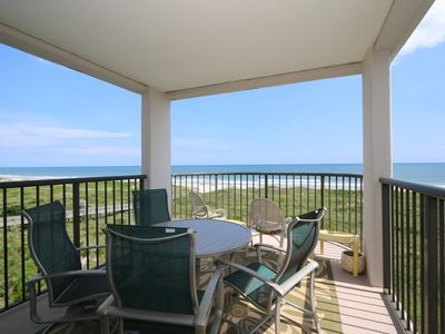 Photo for DR 1411 - Wonderfully decorated fourth floor oceanfront condo with easy beach