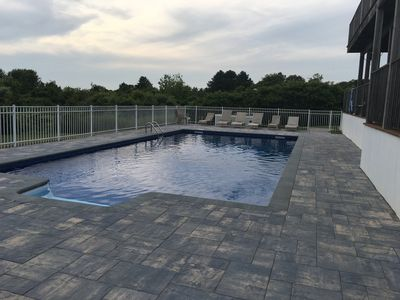 Photo for Large Montauk Home with Pool off East Lake  Sunset View