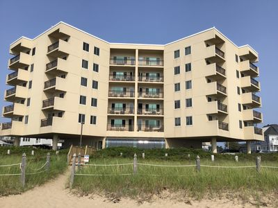 Photo for Beachfront condominium on 7 miles of white sandy beach!