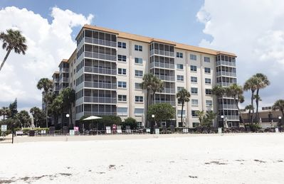 Photo for Gorgeous Furnished Condo Stunning Views Directly on Lido Beach, 3 month minimum.