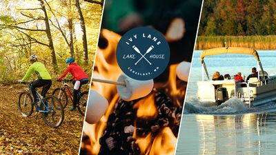 Get ready for Fall north woods fun in beautiful Crosslake