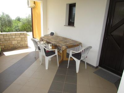 Photo for Two bedroom apartment with terrace Vilanija, Umag (A-17240-a)