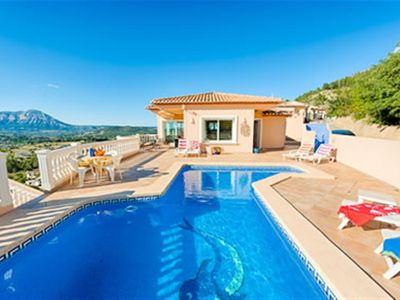 Photo for Private Villa, excellent value for a family holiday, free wifi