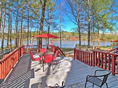 Photo for Lovely Mansfield Home w/ Massive Private Deck!