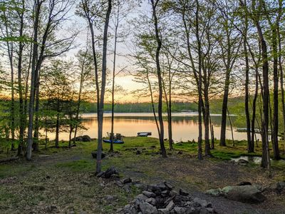 Photo for Relaxing Pocono Lakefront, 3 Beds, 2 Baths, Sleeps 8