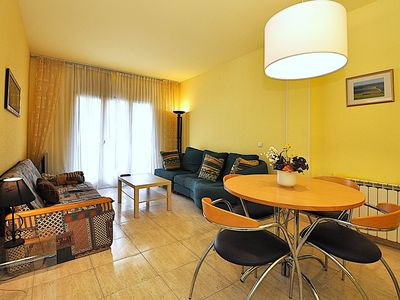 Photo for Apartment Calafats, 100m. from the beach, 2 bedrooms, A/C, wifi
