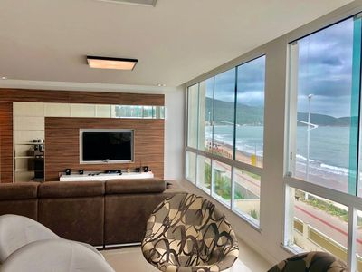 Photo for High standard waterfront penthouse with pool and jacuzzi