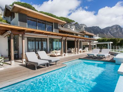 Photo for Stunning 4 Bedrooms Ava Villa with Beach View in Camps Bay