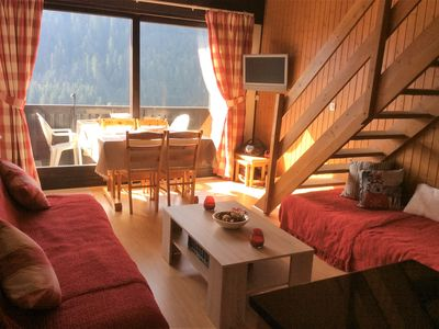 Photo for Cosy family apartment  in central location in Chatel