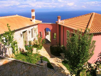 Photo for DIO GUESTHOUSES VILLA PRASTOS 3 B/R WITH PRIVATE GARDEN AND SWIMMINGPOOL